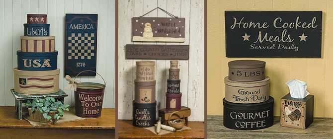 primitive home decor | country home decor | gainers creek crafts TFALYXG