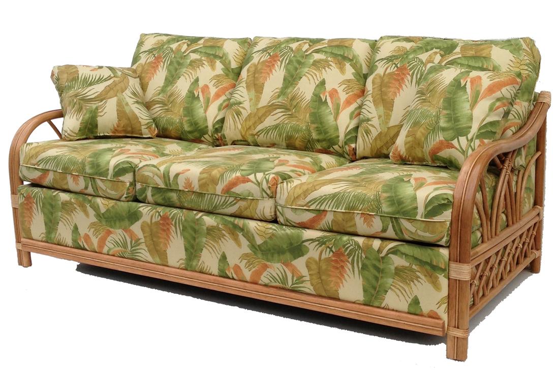 rattan sofa rattan sleep sofa FPWRMMJ