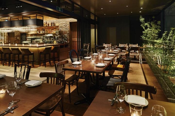 restaurant design the kitchen salvatore cuomo ginza restaurant by hako design, tokyo - japan NSFQDCW