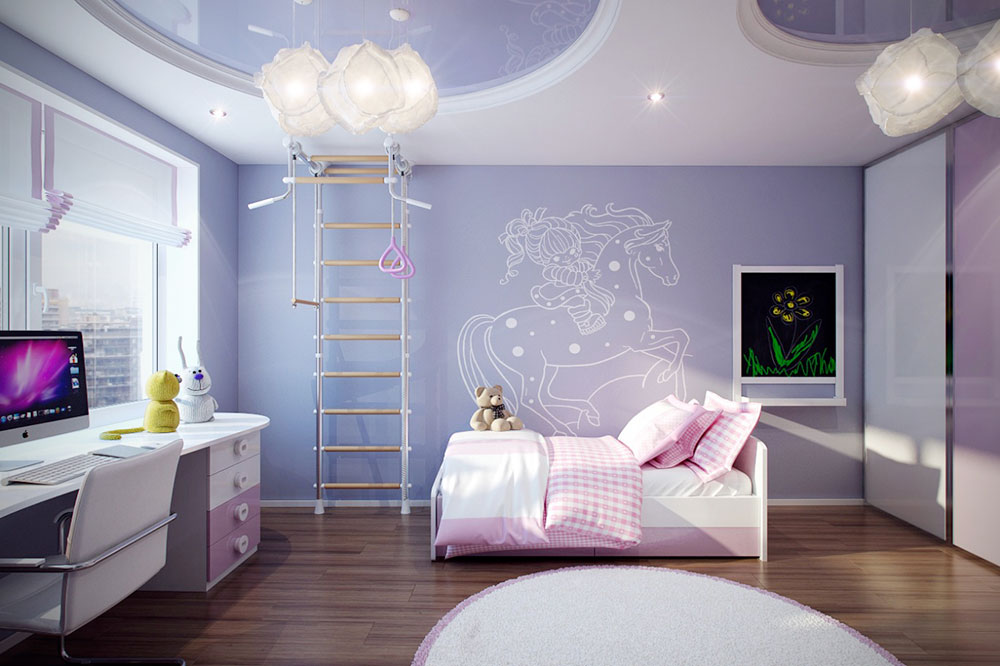 room decor ideas colorful-girls-rooms-decorating-ideas-8 colorful girls rooms design u0026 BDOMQYC