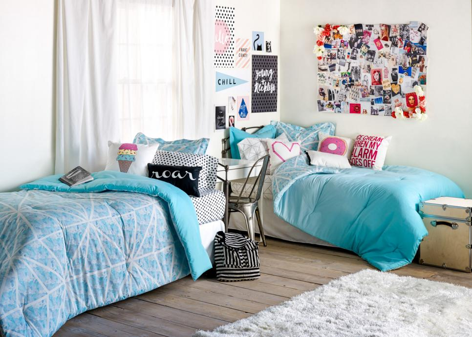 room decor ideas dorm room decorating ideas u0026 decor essentials | hgtv VBMJTVL