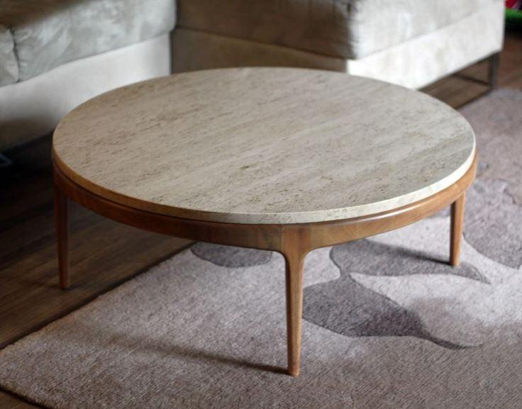 round coffee table marble + retro + round... now thats a coffee table i can do BERQJYB