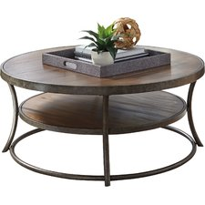 round coffee table mccool coffee table IRAMXZC