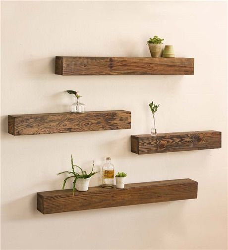 rustic wooden shelves store and display your favorite photographs, candles  and more. RSEZETB