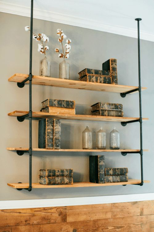 Uses of shelving units