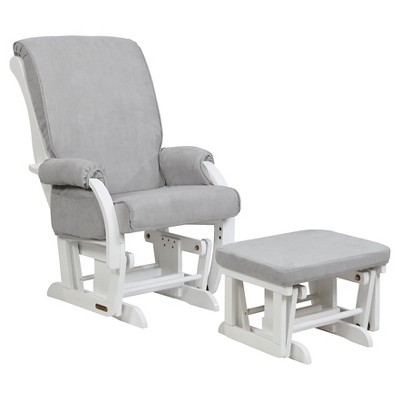 shermag sorrento glider chair and ottoman combo GKTEPMO