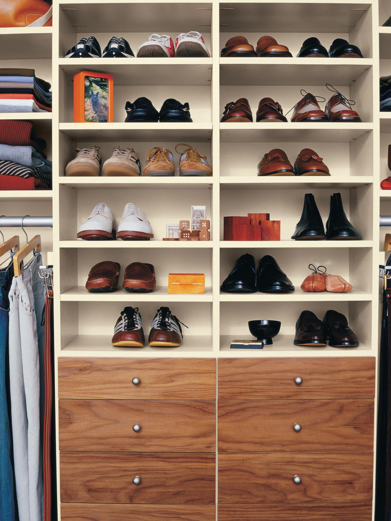 shoe shelves for closets MTHCMOI