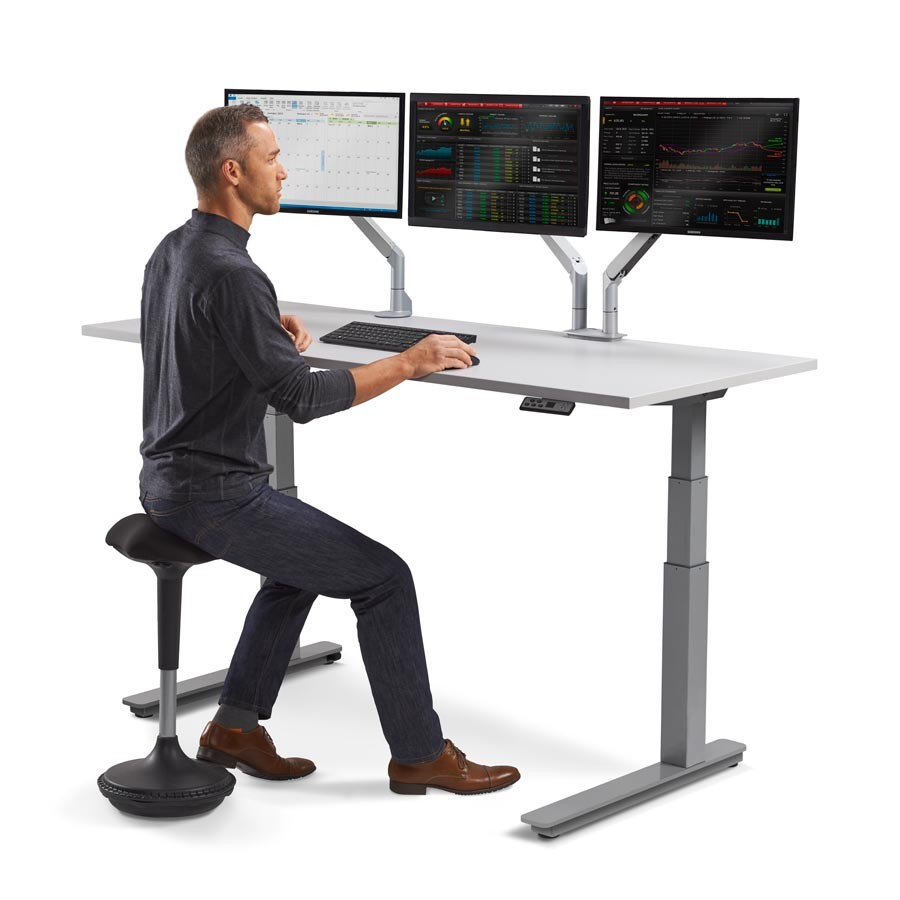 The Height Adjustable Sit Stand Desks Yonohomedesign Com