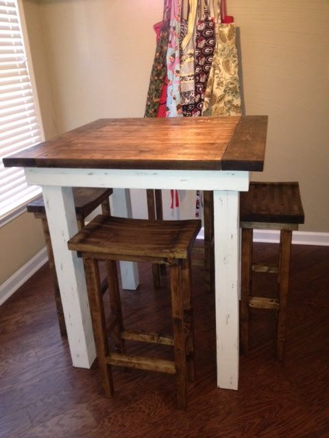 small kitchen tables married filing jointly (mfj): finished kitchen pub tables and bar stools XCEJTMN
