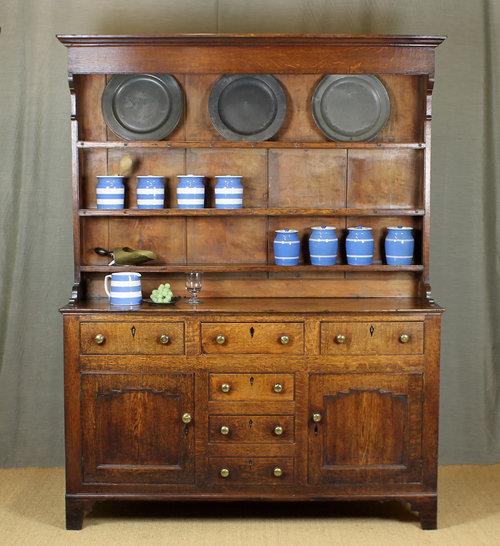 small oak welsh dresser c.1810. - antiques atlas PJRCMIS