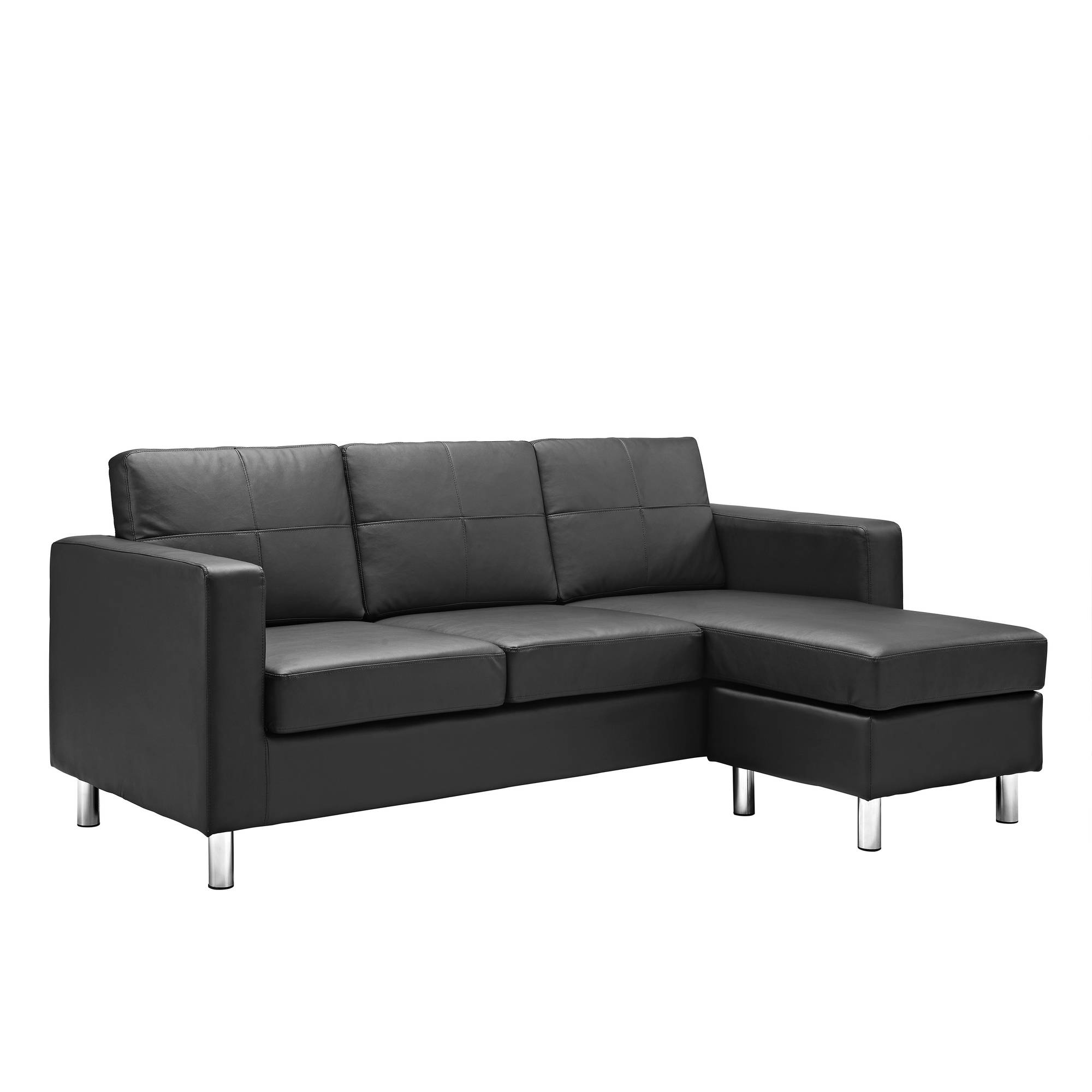 small sectional sofa dorel living small spaces configurable sectional sofa, multiple colors -  walmart.com DNZRPAU