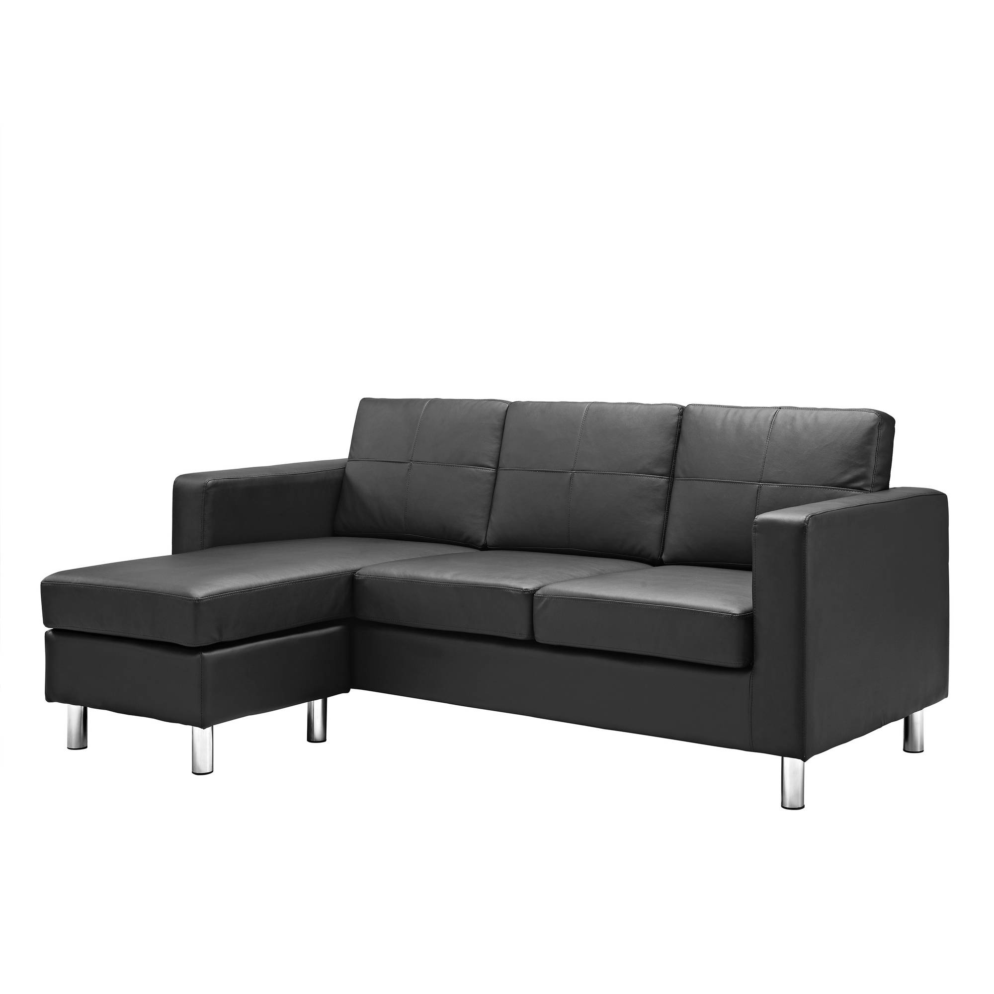 small sectional sofa dorel living small spaces configurable sectional sofa, multiple colors -  walmart.com TIUEKQV