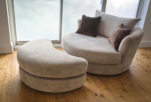 snuggle chair jefferson snuggle swivel chair and crescent footstool CGPWKEU
