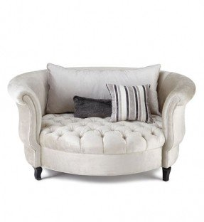 snuggle chair silver haute house harlow cuddle chair PFPAVEZ