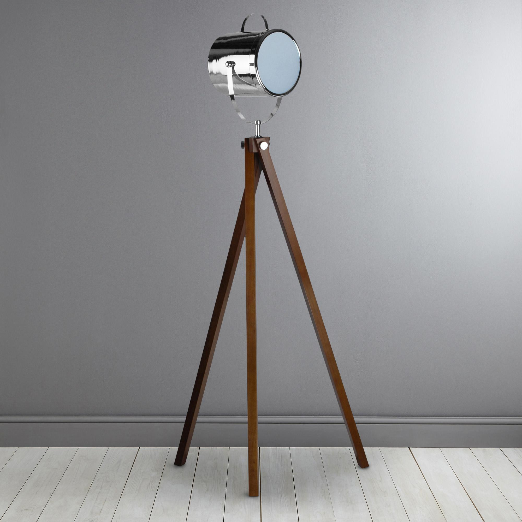 standard lamps wooden camera floor lamp OWKTDJZ