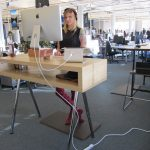 Making the most of standing desks