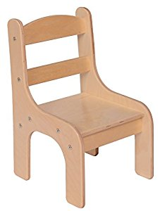 steffy wood products toddler chair, 8-inch IWAXOUL