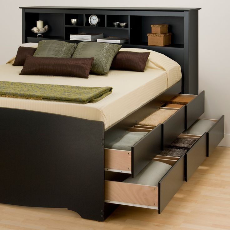 Storage beds for keeping your bedroom clean and organised