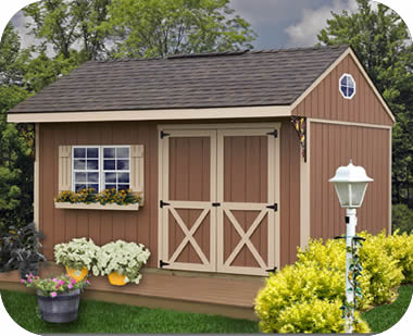 storage sheds northwood 14x10 wood storage shed kit - all pre-cut DJTOCAM