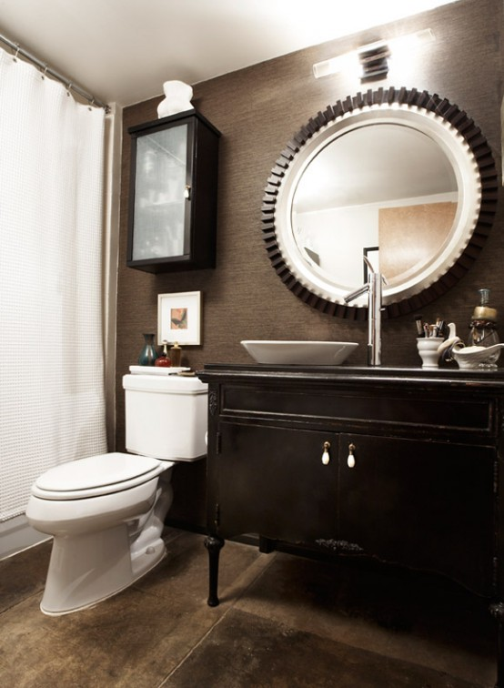 stylish truly masculine bathroom decor ideas IPYCVSQ