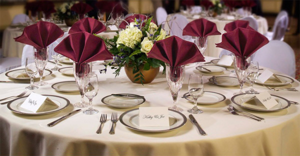 table linens specializing in elegant linens for your wedding day OFGVZQF