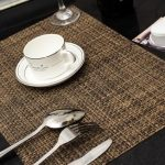 Trendy tablemats and placemats