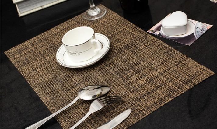 Trendy tablemats and placemats – yonohomedesign.com