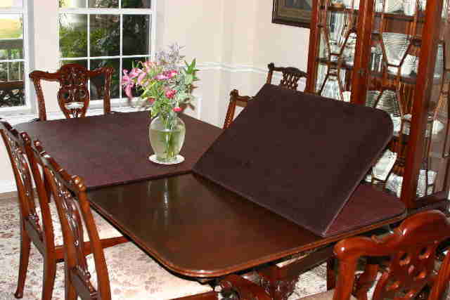 Increase your table's life with table pads