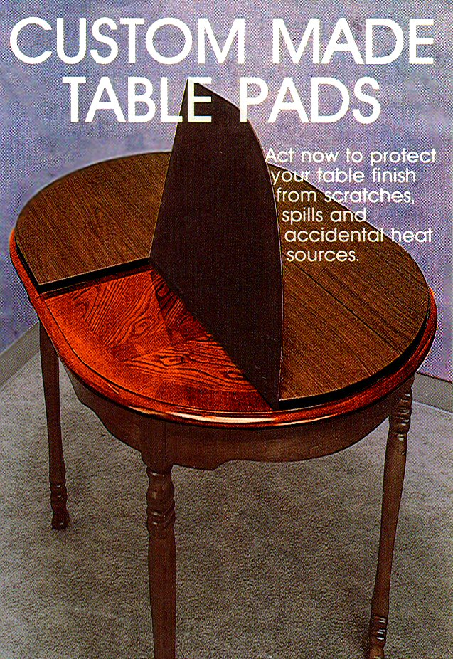 table pads the virginia table pad co. ZRZLTIY