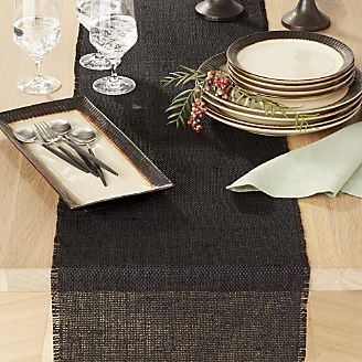 table runners basa black table runner KOPUMIQ