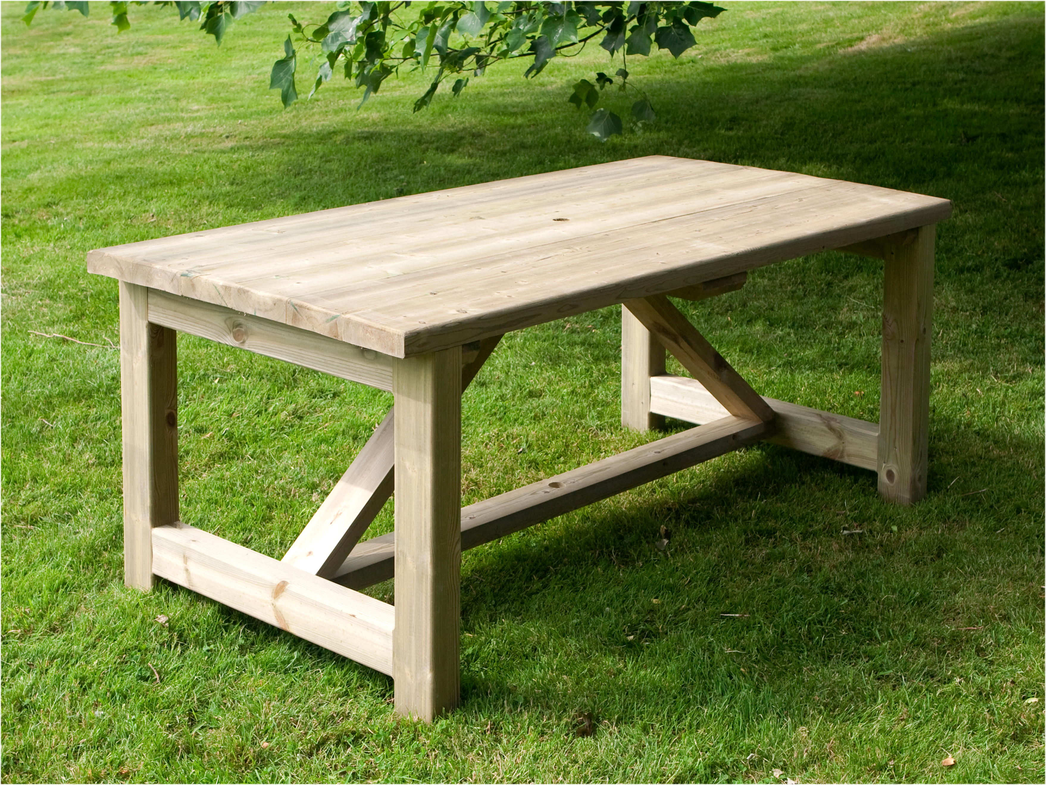 the lightweight tables are easy to move. the garden table should have JPOGSAD