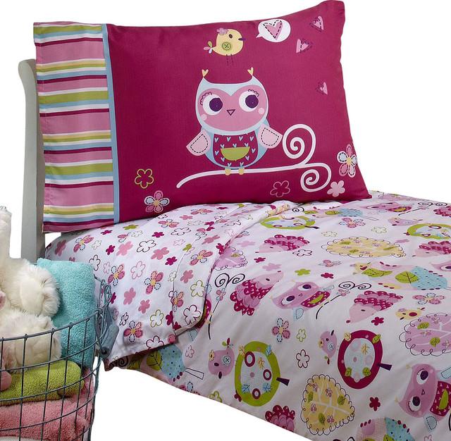 toddler bedding sets owls toddler bedding set hoot hoot bed contemporary-toddler-bedding PHTFSAZ