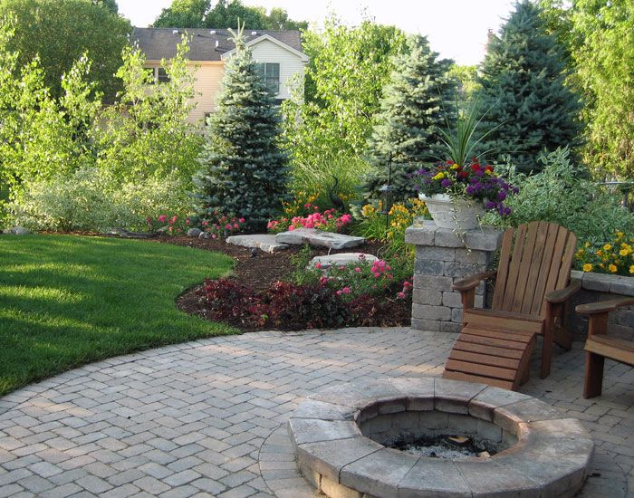 Ideas And Tips For Backyard Landscaping Yonohomedesign Mesmerizing Backyard Landscape Design Plans