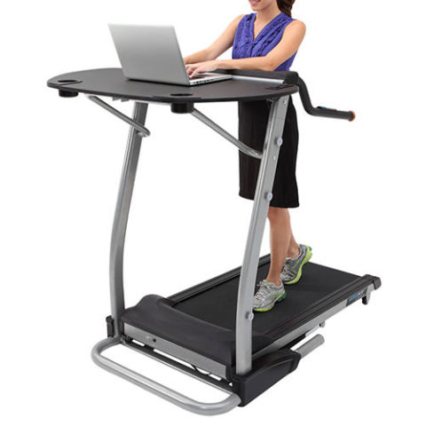 treadmill desk exerpeutic 2000 workfit high capacity desk station treadmill PFMUEUR