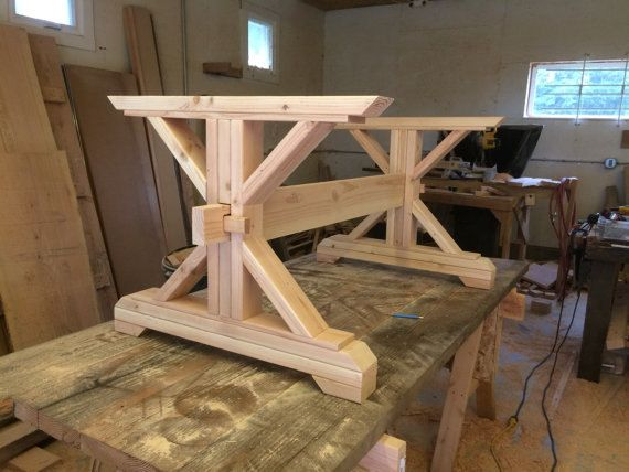 Trestle Table Best 25 Tables Ideas On Pinterest Farm Dining Room