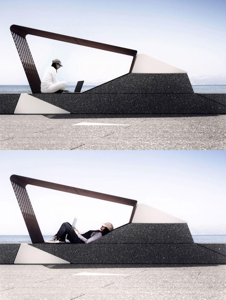 urban furniture all in square micro-architecture by in-tenta #architecture ☮k☮ OERSQWP