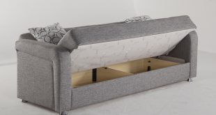 vision diego gray convertible sofa bed by sunset KMNWYFG