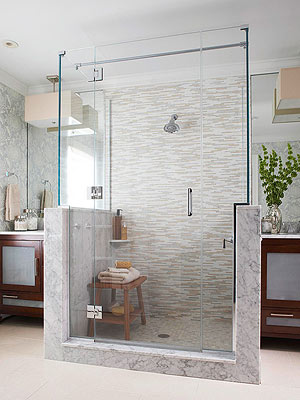 walk in showers 15 stylish seats for walk-in showers BVZRLUO