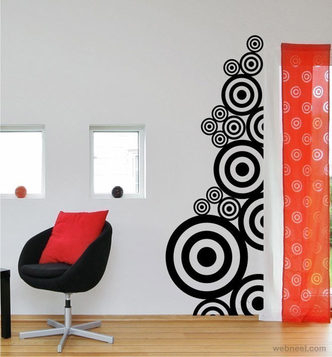 wall paintings creative wall art ideas wall art xvwesjf - Designs For Room Walls