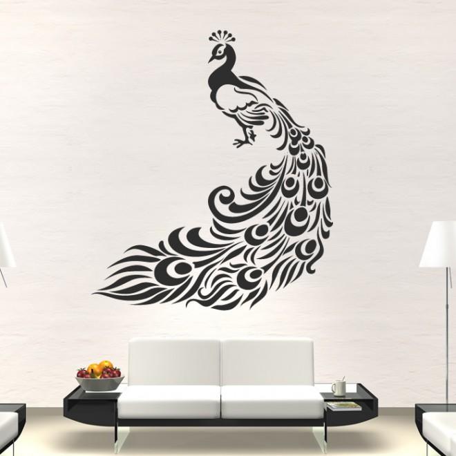 wall paintings peacock wall art - 5 peacock wall art - 5 ASZYLAP
