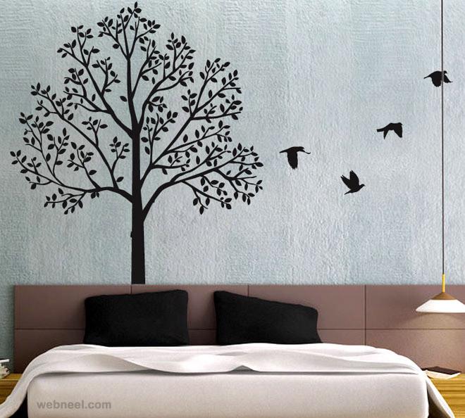wall paintings wall art ideas tree wall art tree BUGHZOS
