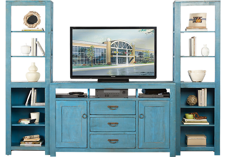wall units south creek blue 3 pc wall unit LYWNEXC