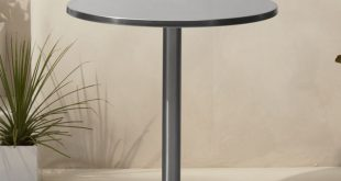 watermark bistro table | cb2