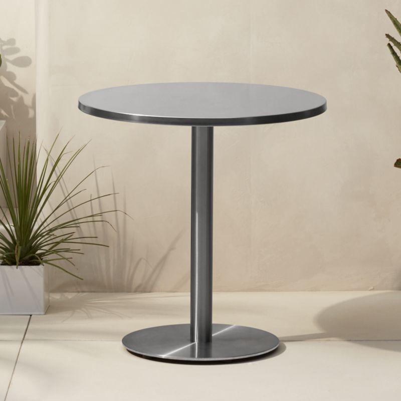 Ordinaire Watermark Bistro Table | Cb2 TTWQBWC