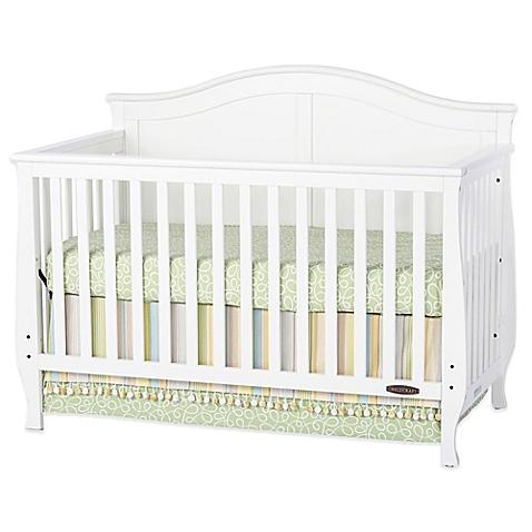white crib child craft™ camden 4-in-1 convertible crib in white - buybuy baby XSWQFYV