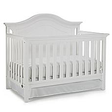 white crib image of ti amo catania 4-in-1 convertible crib in snow white UCWFQVR