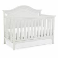 white crib ti amo catania convertible crib in snow white BQDDRCH