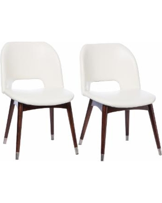 white dining chairs betty modern white leather dining chairs ZPJVTXU