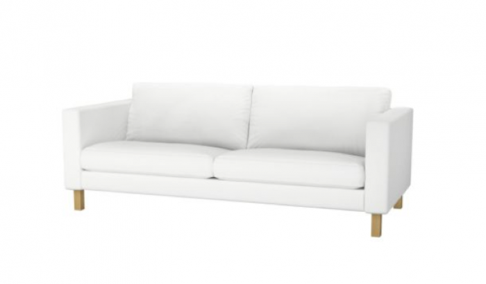 white sofa above: the metro slip-covered sofa is $1,399 at room and board. MPBLXID