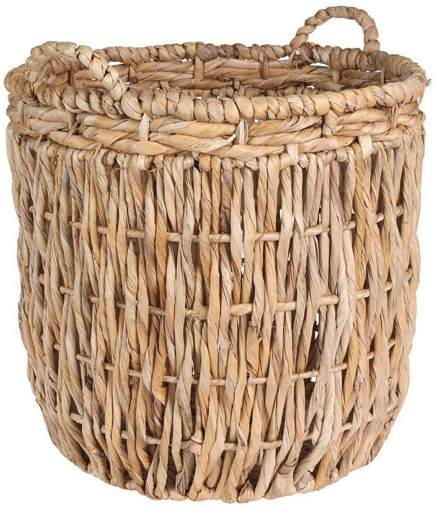 wicker baskets round wicker basket price: $74.99 MGPYYIK